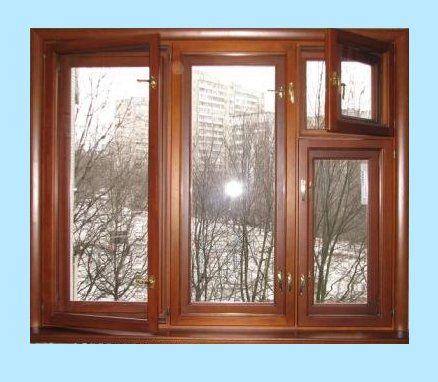 Fínske drevené okná