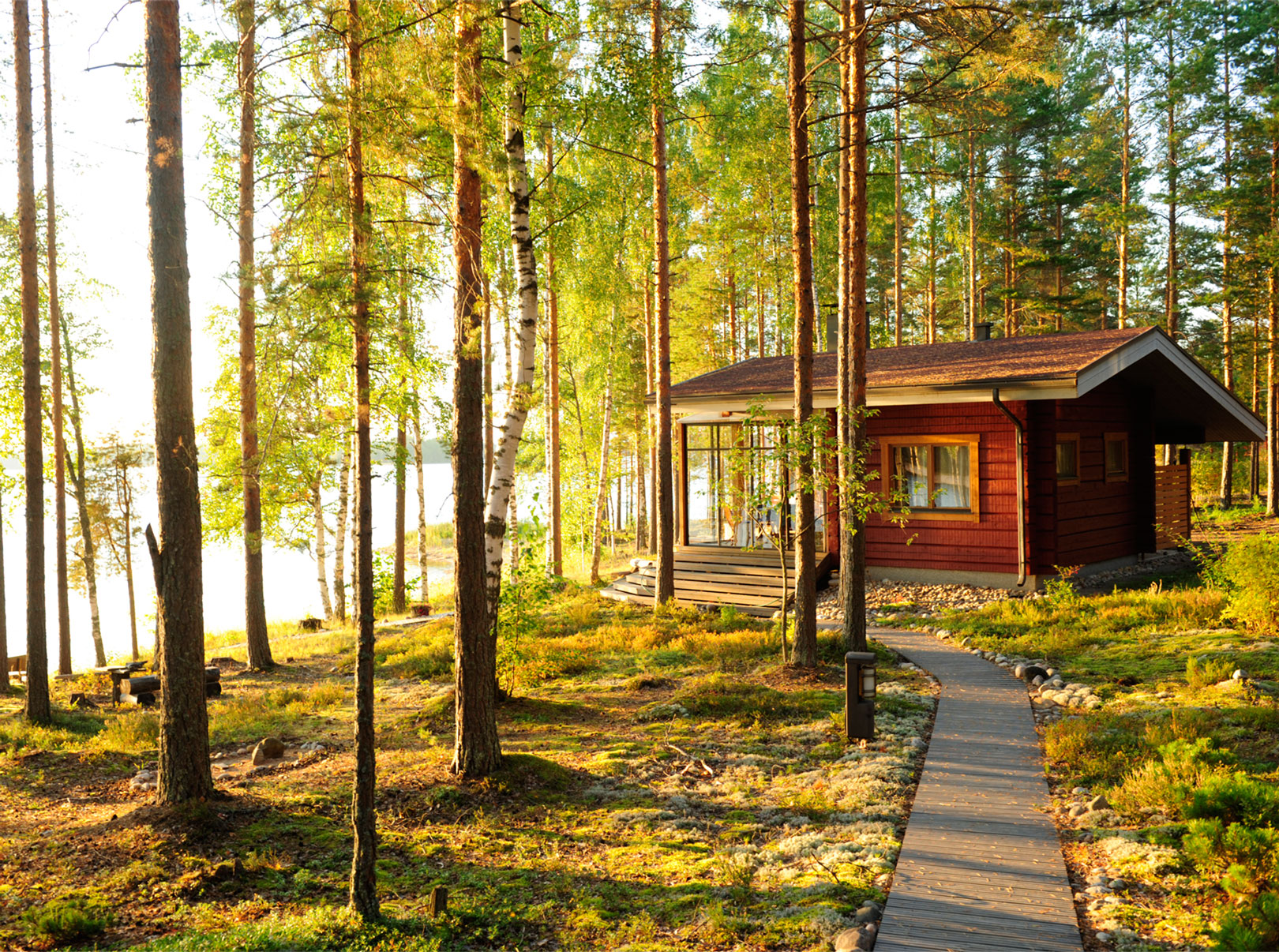 Бронирование коттеджей финляндии новый год