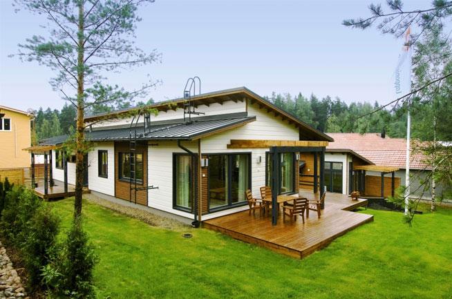 Дома в финляндии фото