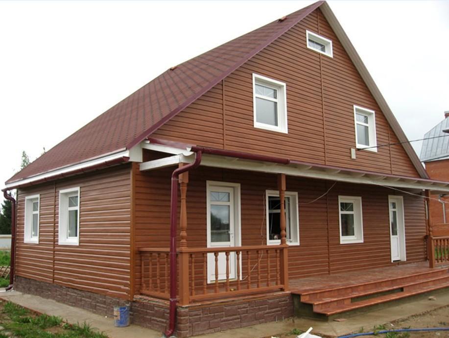 Виниловый сайдинг - отличный материал для отделки фасадов